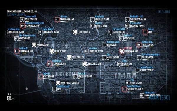 Payday 2 Screenshot Wallpaper CrimeNet