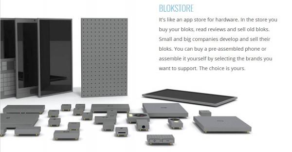 Phonebloks Design Concept