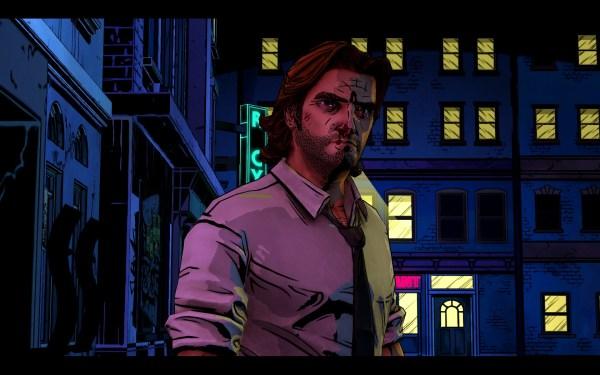 The Wolf Among Us Screenshot Wallpaper Bigby Wolf