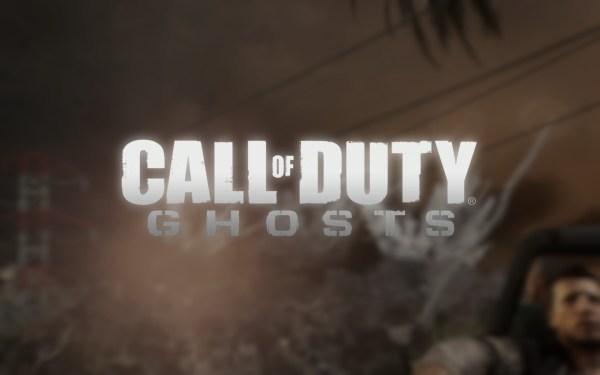 Call of Duty Ghosts Review Screenshot Wallpaper Title Screen