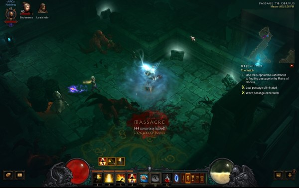 Diablo 3 Reaper of Souls Review Screenshot Wallpaper Massacre