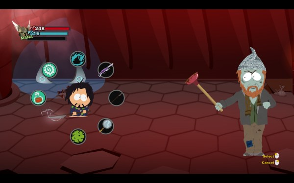 South Park The Stick of Truth Review Screenshot Wallpaper Combat