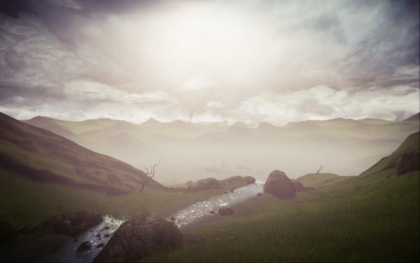 Mind Path to Thalamus Review Screenshot Wallpaper Across The Lake