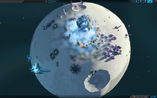 Planetary Annihilation Screenshot Wallpaper Commander Termintated
