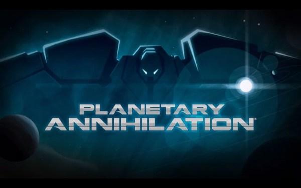 Planetary Annihilation Screenshot Wallpaper Title Screen