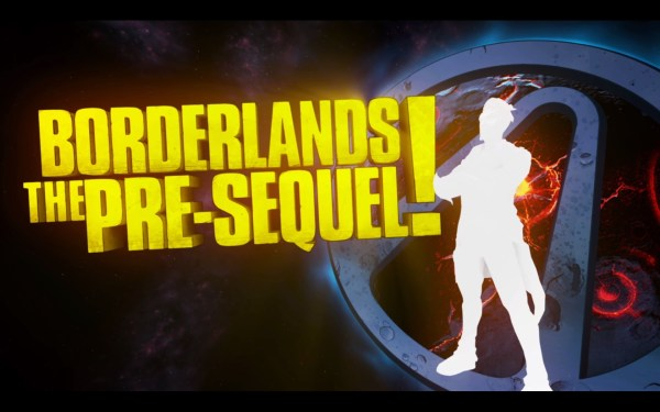 Borderlands The Pre Sequel Review Screenshot Wallpaper Title Screen