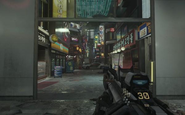 Call of Duty Advanced Warfare Screenshot Wallpaper South Korea