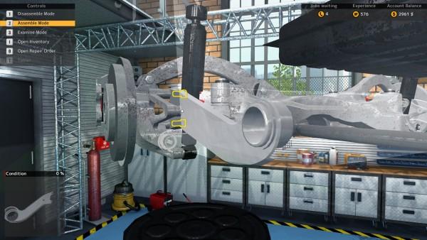 Car Mechanic Simulator 2015 Review Screenshot Wallpaper Assemble Mode
