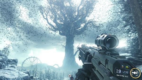 Call of Duty Black Ops 3 Review Screenshot Wallpaper The Frozen Forest