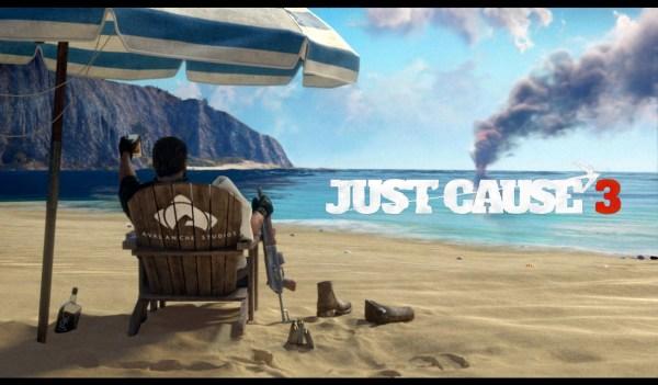 Just Cause 3 Review Screenshot Wallpaper Title Screen
