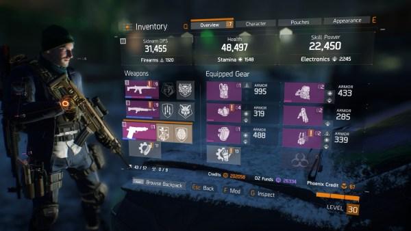 The Division Review Screenshot Wallpaper Gear