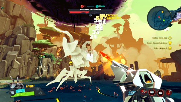 Battleborn Review Screenshot Wallpaper Bagranth the Gunhulk