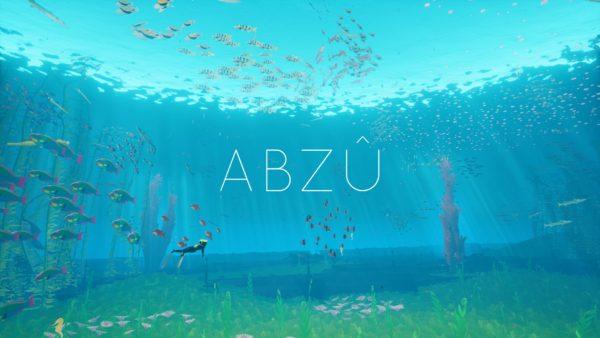 ABZU Review Screenshot Wallpaper Title Screen