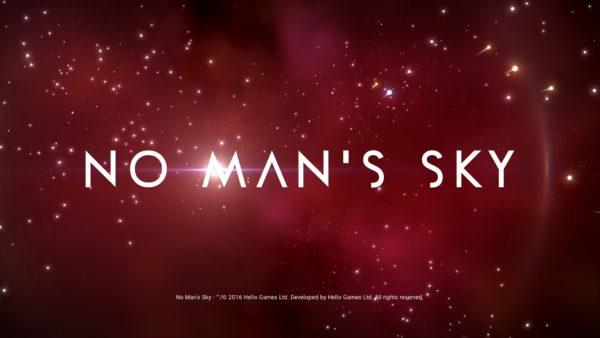 No Man's Sky Review Screenshot Wallpaper Title Screen