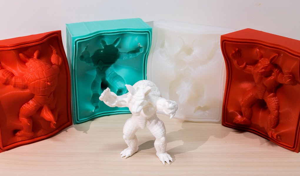 3D molded object
