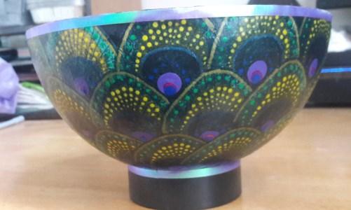 Peacock Bowl!