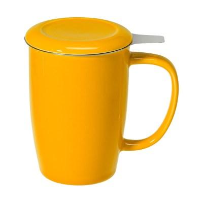 Cana ceai Sienna galben lucios 0.4 l