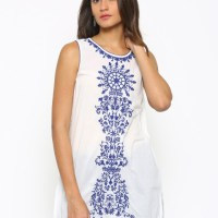 Feel Fresh And Summery In This Cool Fusion Beats Kurti!