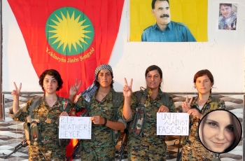 Image result for yazidi female fighters unite against fascism