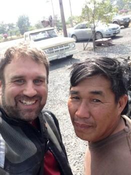 Andy and Khun Suep