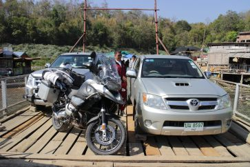 2 cars and a few bikes is about the limit