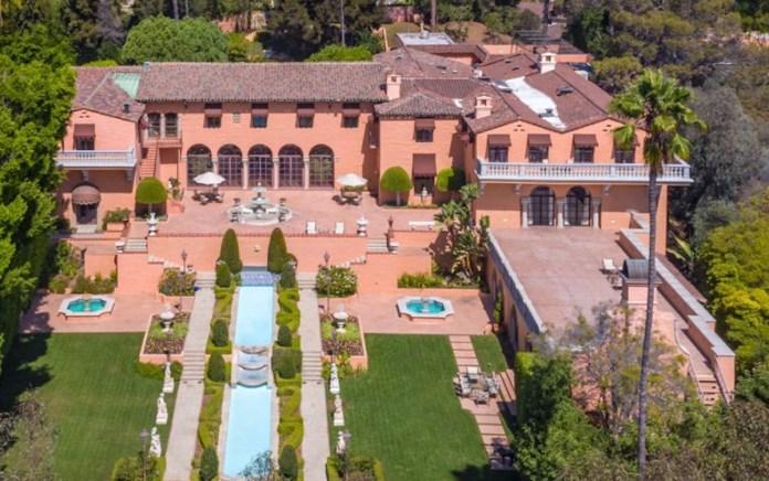 Hearst Estate, Los Angeles, Beverly Hills, Chartwell, The Playboy Mansion, Owlwood, The Harold Lloyd Estate, The Knoll, The Warner Estate, Casa Encantada, Greystone, Pickfair