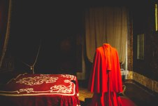 bedroom in piazzo de chigi in ariccia