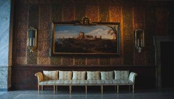 Sun room in Palazzo Chigi
