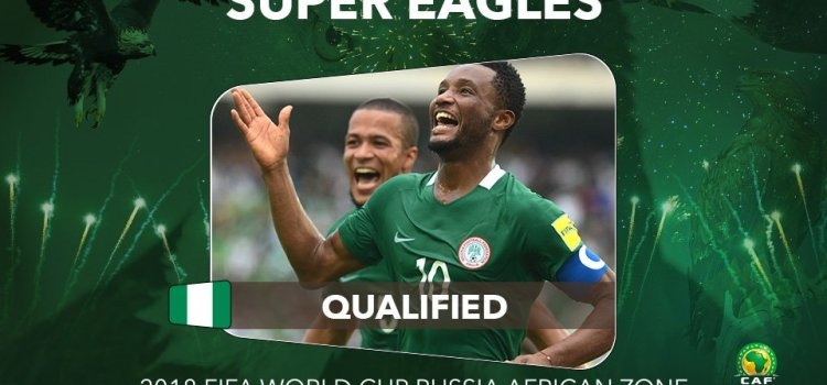 Breaking! Nigeria becomes first African country to qualify for 2018 World Cup