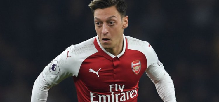 Mesut Ozil New deal talks at Arsenal are 'positive'
