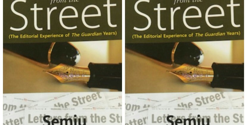 ​Letters from the Street: History and the Burdens of Journalism