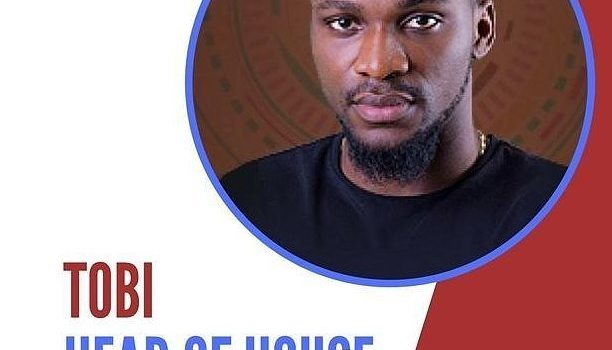 ​#BBNaija2018: Tobi is Head of House for 5th week