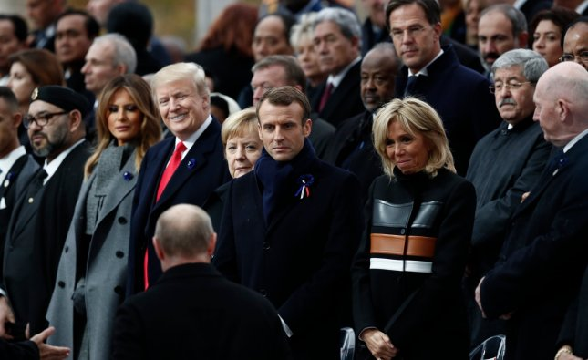 Armistice Day: President Macron urges world leaders to reject nationalism