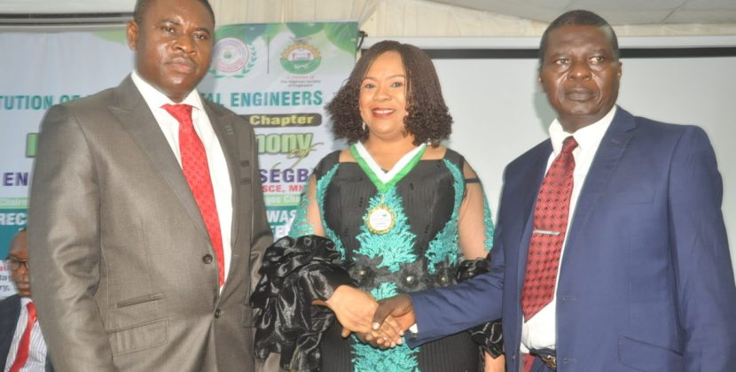 Nigerian Institution of environmental engineers inagurates new Chairman