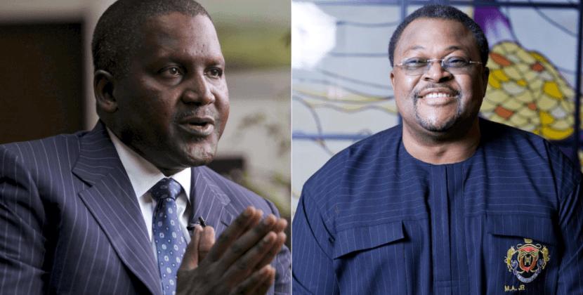 Dangote, Adenuga, Robert Smith, top list of Forbes' black billionaires for 2019
