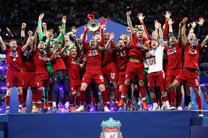 Liverpool FC win EPL