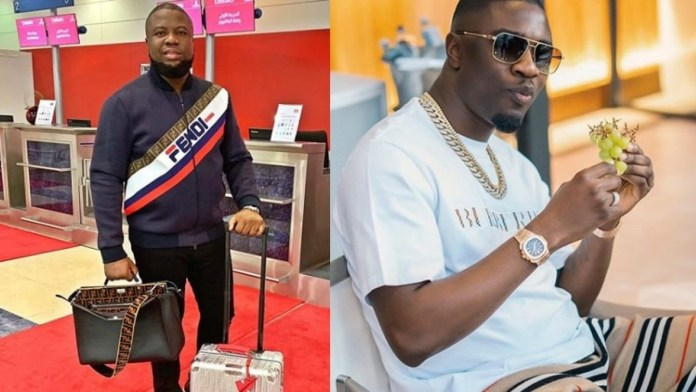 Hushpuppi and right hand man, Woodberry