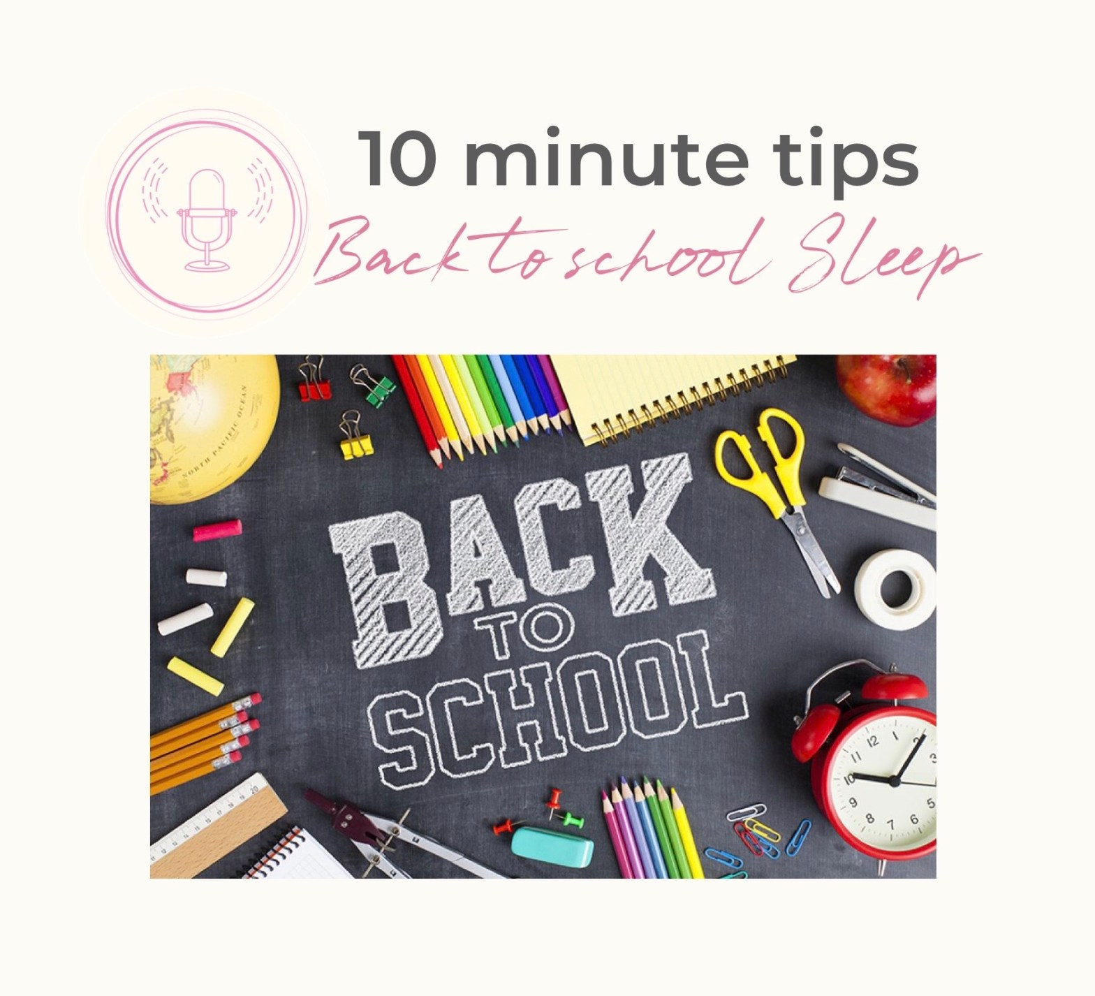 Back to School Sleep Tips | sleep well for School | Back to School Tips