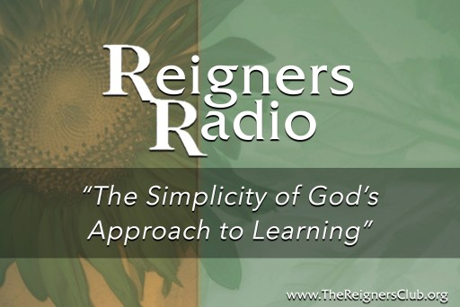 The Simplicity of God's Approach to Learning