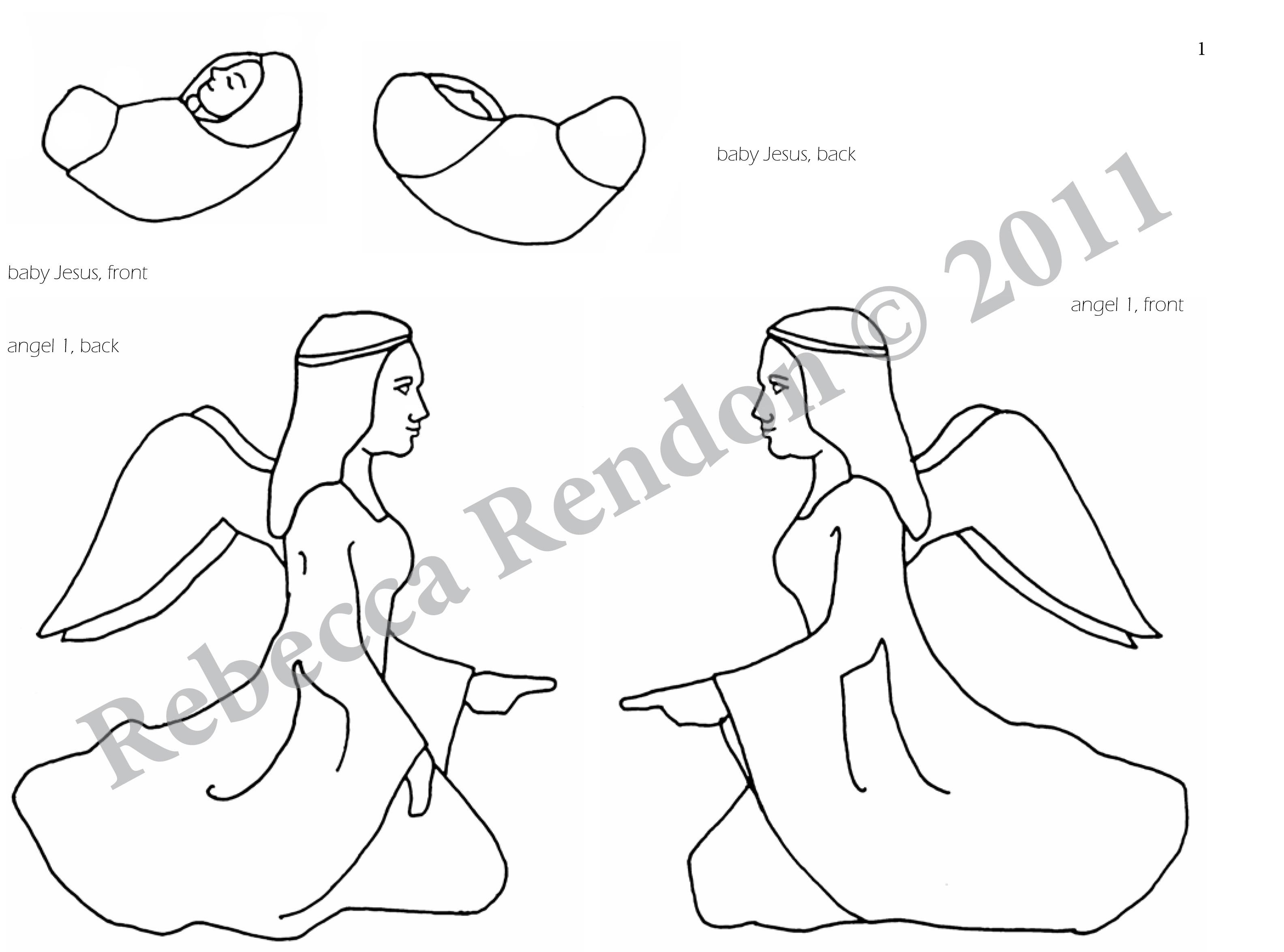 Woodworking Plans Nativity Cut Out Patterns PDF Plans