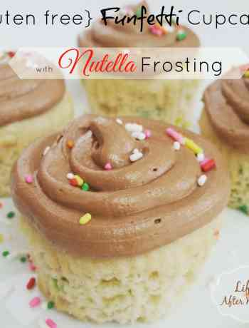 the classic creamy texture of Nutella except in a pipeable frosting form. Simple yet decadent, it's the perfect way to fancy up whatever treat you might be making! Brownies? Strawberries? Graham Crackers?