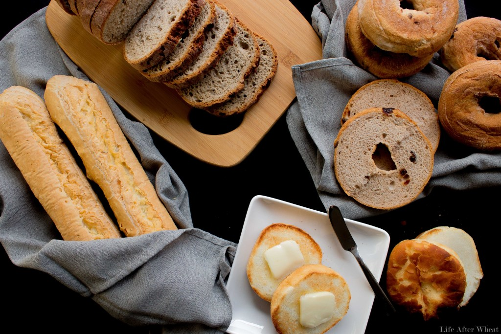 Take the guesswork out of gluten free grocery shopping! Here's a list of the best gluten free breads on the market. Want to bake your own? We've got you covered with recipes for Sandwich Bread, Flaky Biscuits, soft and buttery Crescent Rolls, and Garlic Breadsticks!