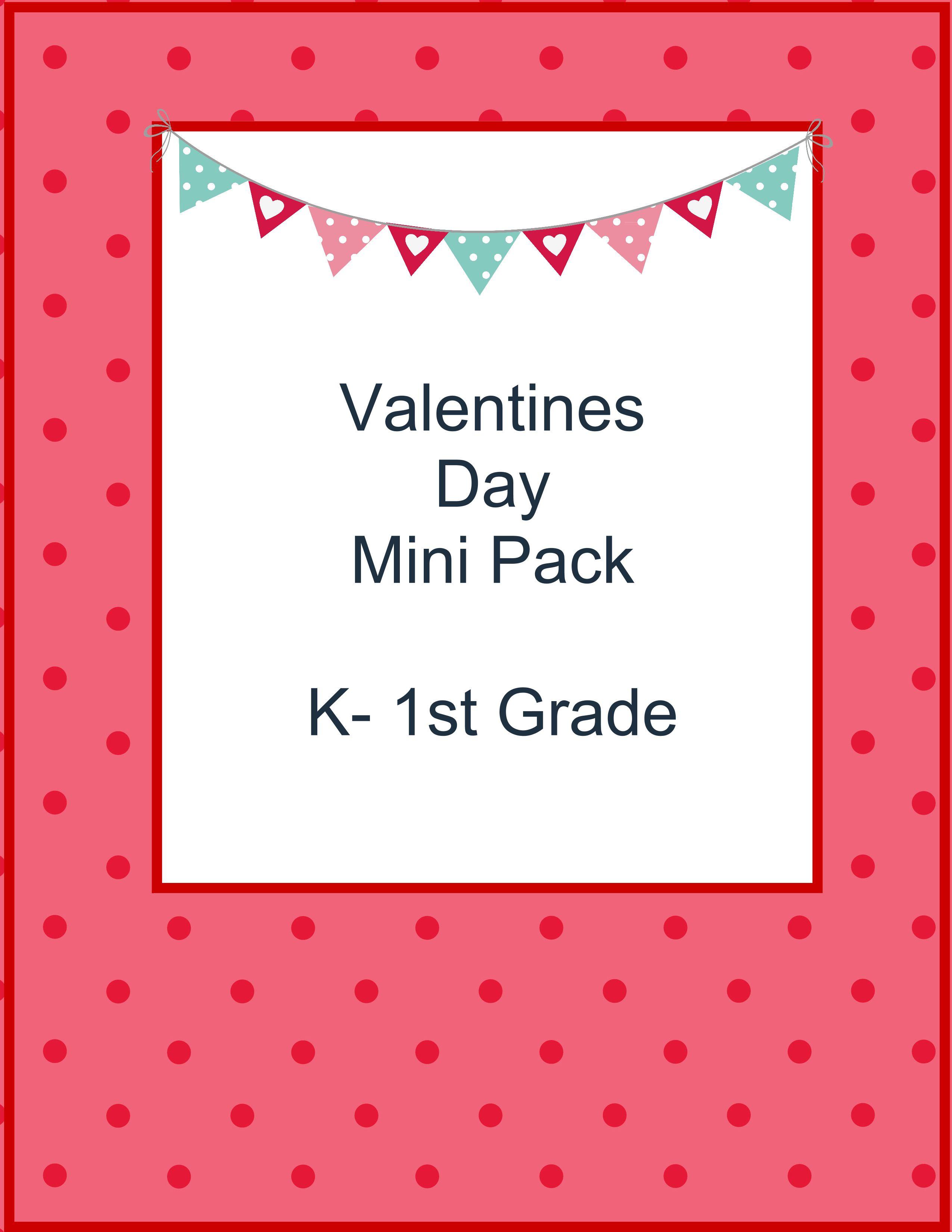 Free Valentines Day Mini Pack