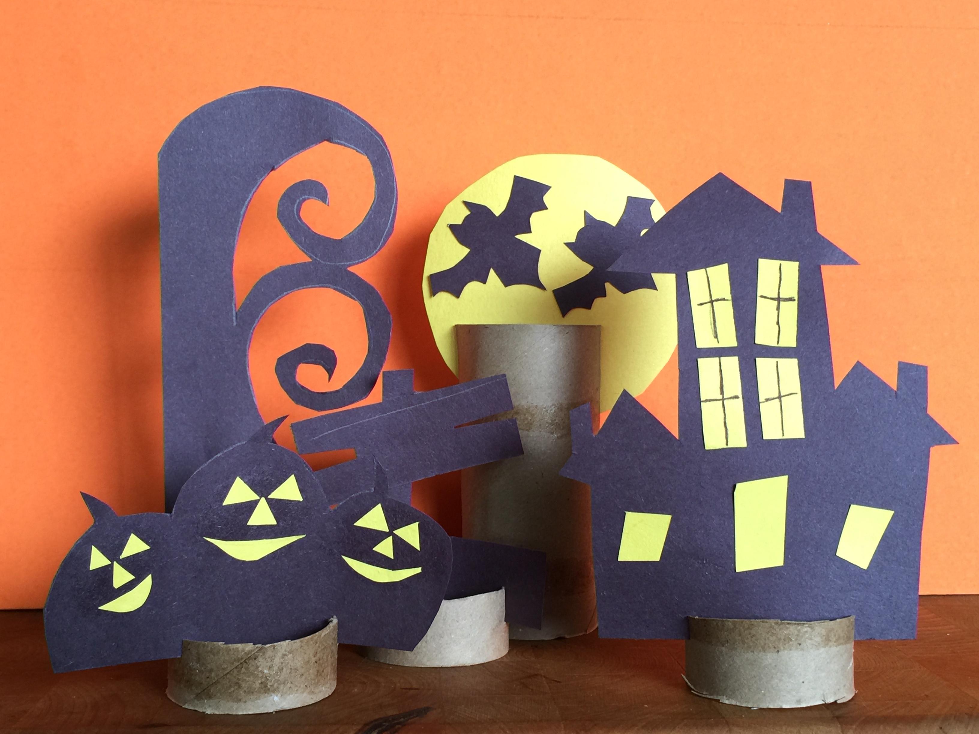 Halloween Paper Craft