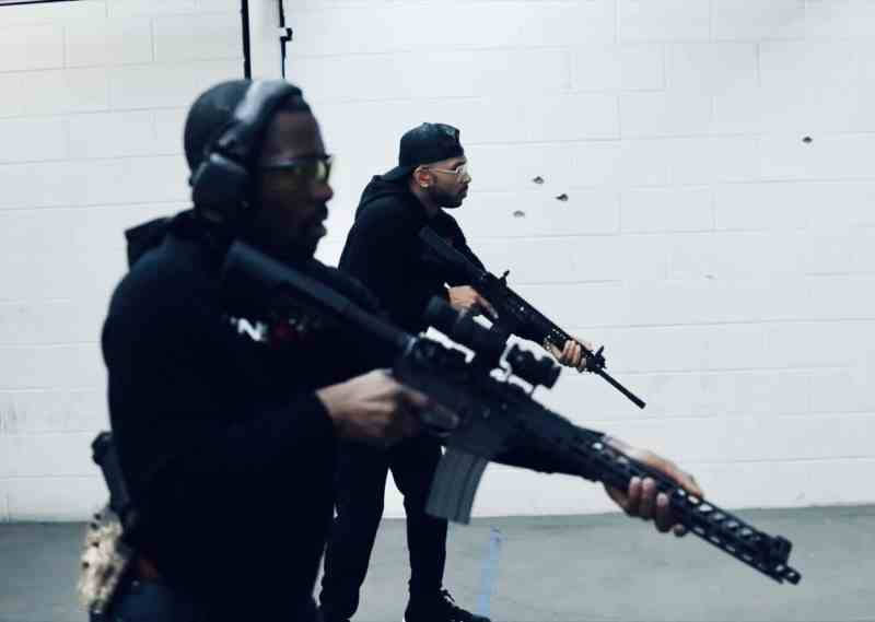 Singleton and Keys with AR-15s