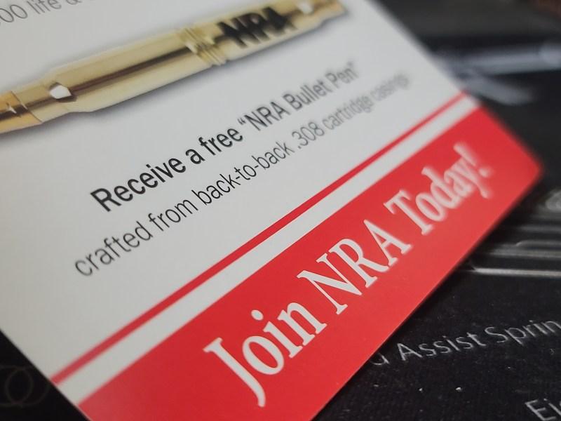 An NRA advertisement