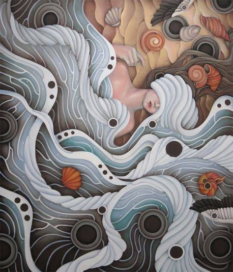 The Sea, the Mother of All Creations, also symbolize the psyche - the soul and the Consciousness or the thoughts and emotions of an individual.