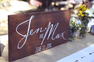 Sign for the Couple