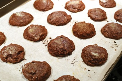 Partially Baked Kahlo Cookies