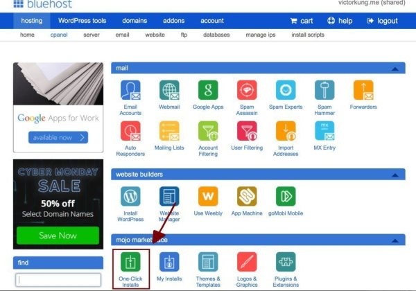 Bluehost One-Click Install | How to Start a Successful WordPress Blog (Ultimate Guide)